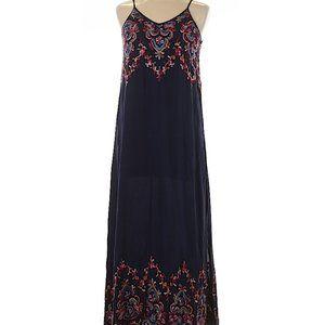 Karen Kane Maxi Dress with Embroidered Detail